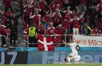 Denmark beats Russia 4-1 to advance at Euro 2020 - Dawson Creek Mirror