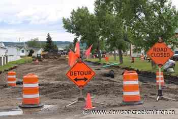 Hospital roadwork continues - Dawson Creek Mirror