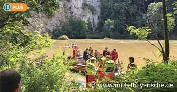 Gefahr beim Schwimmen im Donaudurchbruch - Region Kelheim - Nachrichten - Mittelbayerische