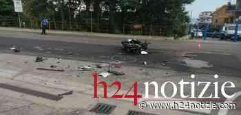 Grave incidente stradale a Formia: elitrasportato un centauro (#VIDEO #FOTO ) - h24 notizie