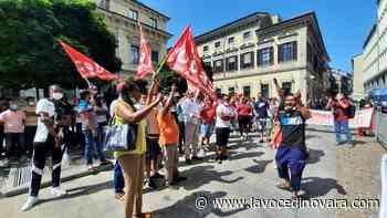 Sindacati e lavoratori in piazza per Adil - La Voce Novara e Laghi - La Voce di Novara