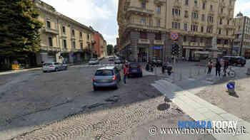 Novara, ripartono i lavori in piazza Cavour: viabilità modificata per un mese - NovaraToday