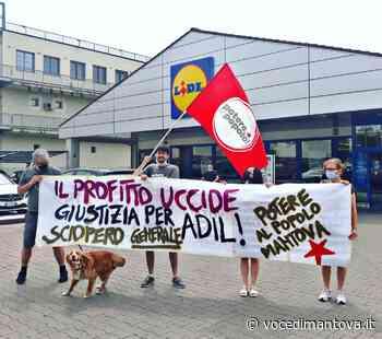 Azione di protesta a Mantova per Adil, sindacalista ucciso a Novara   la Voce Di Mantova - La Voce di Mantova