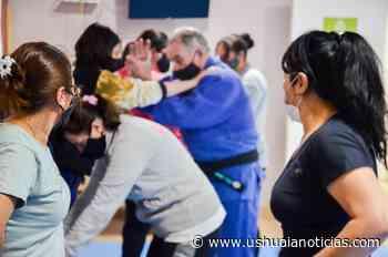 Río Grande: Inició el taller de judo y defensa personal femenino en el SUM Arraigo Sur - Ushuaia Noticias
