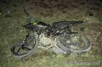 Muere motociclista en fatal accidente en Río Grande - NTR Zacatecas .com