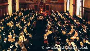An historic occasion carried out in mini Westminster - Belfast Telegraph