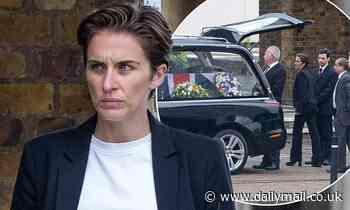 Vicky McClure films dark funeral scenes for Jed Mercurio's ITV drama Trigger Point in Essex