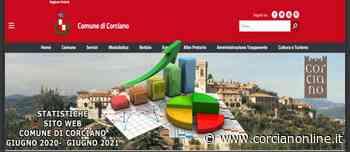 Boom di accessi al nuovo sito istituzionale del Comune di Corciano - CORCIANONLINE.it - CORCIANONLINE.it