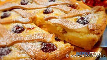 Crostata con crema e ciliegie - NapoliToday