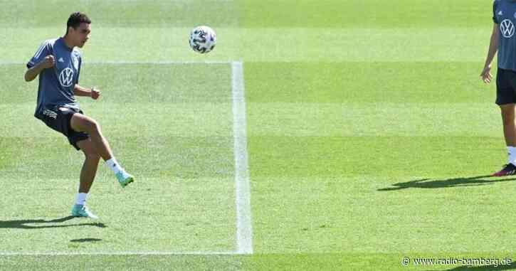 Bayern-Teenager Jamal Musiala gegen Ungarn auf der Bank