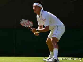 Kei Nishikori: It's hard to have clear goal for Wimbledon - Tennis World USA