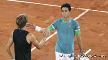 Tennis: Kei Nishikori exits French Open with 4th-round loss to Zverev - Kyodo News Plus