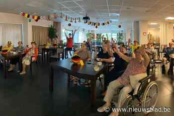 De Maretak supportert voor Rode Duivels - Het Nieuwsblad