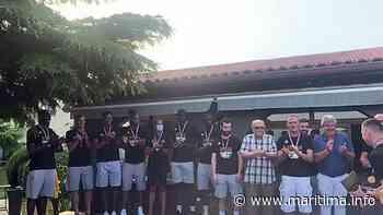 Fos Provence Basket reçoit son trophée de champion - Fos sur Mer - LIVE - Maritima.Info - Maritima.info