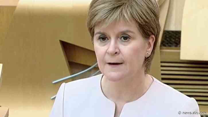 COVID-19: Lockdown easing delayed in Scotland with restrictions to remain in place until 19 July, says Nicola Sturgeon - Sky News