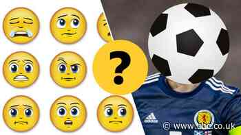 Guess the Scotland player from the emoji - BBC Sport