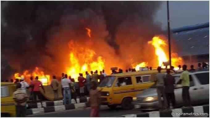 LASEMA reveals the cause of Ikeja gas tanker explosion as death toll rises - Nairametrics