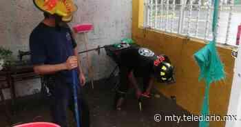 Lluvia Guadalupe. Se inundan casas en Niños Héroes y Las Flores - Telediario Monterrey