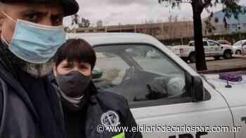 Especialistas cordobeses trabajan en la búsqueda de Guadalupe - El Diario de Carlos Paz