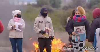 Búsqueda de Guadalupe: familiares cortaron la Ruta 7 en reclamo de la aparición con vida de la nena - infobae