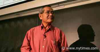 Ei-ichi Negishi, Nobel Prize Winner in Chemistry, Dies at 85