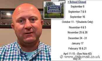 New Jersey school board reverses decision to strip calendar of holiday names