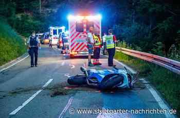 Unfall nahe Geislingen - 31-jähriger Motorradfahrer kommt bei Sturz ums Leben - Stuttgarter Nachrichten