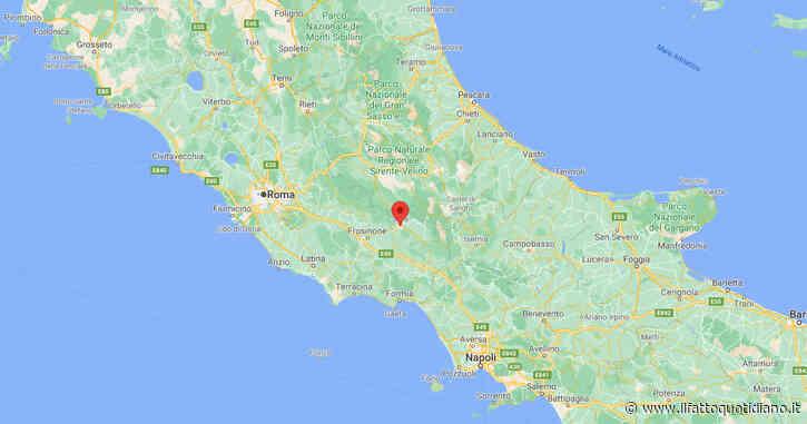 Frosinone, terremoto a Sora: scossa di magnitudo 3,4 avvertita fino a L'Aquila