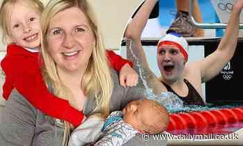 Rebecca Adlington reveals she feels 'self-conscious' at the swimming pool
