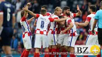 Live! 1:1! Kroatien kassiert gegen Schottland den Ausgleich