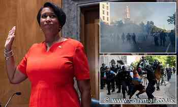 Mayor Muriel Bowser says she 'will not quit' until D.C. gets statehood