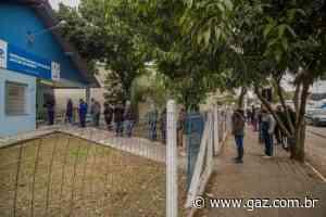 Prefeitura retoma imunização contra a Covid-19 em Santa Cruz nesta terça-feira - GAZ