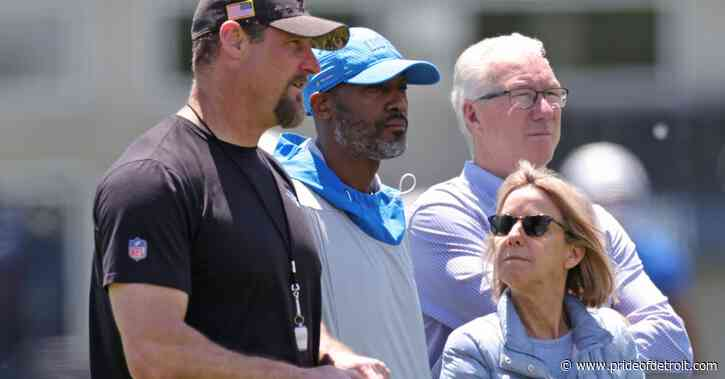Lions create 'Player Wellness' department, make changes to personnel staff
