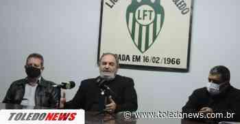 Esporte Clube Toledo: diretoria provisória dá detalhes do novo clube de futebol profissional do município - Toledo News
