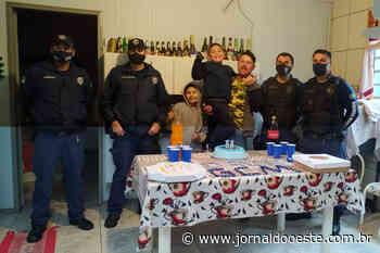 Guarda Municipal faz surpresa para menino de 8 anos em Toledo – Jornal do Oeste - Jornal do Oeste