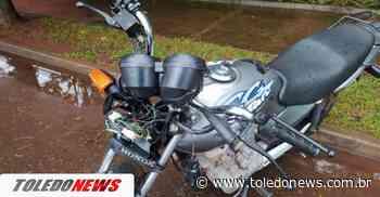 Acidente entre moto e carro é registrado no Jardim La Salle - Toledo News