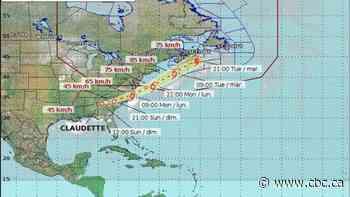 Tropical storm making its way toward Nova Scotia - CBC.ca
