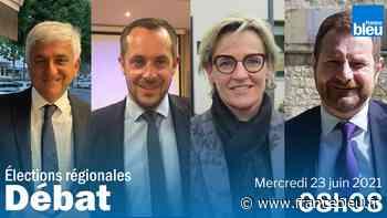 DIRECT - Régionales en Normandie : suivez le débat de l'entre-deux tours entre les quatre candidats mercredi - France Bleu