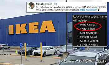 IKEA in Atlanta slammed for offering 'racially insensitive' Juneteenth menu featuring fried chicken