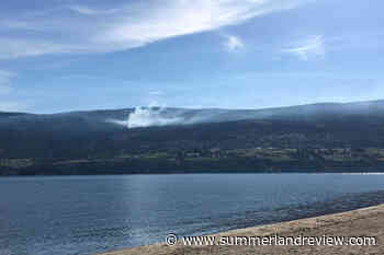Illegal open burn in Naramata will be left to smoke – Summerland Review - Summerland Review