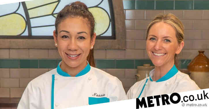 Bake Off: The Professionals Nessie and Domino sent home after 'rough' and 'ugly' desserts