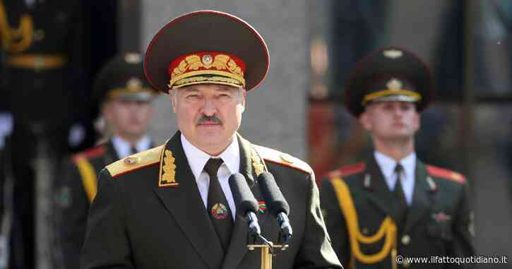 """Bielorussia, Lukashenko attacca la Germania: """"Anche da Berlino sanzioni contro di noi, è un atto di nazismo"""""""