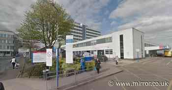 NHS hospital declares rare 'black alert' as more than 300 patients arrive at A&E