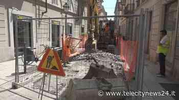 Alessandria: iniziati i lavori in via Trotti - Telecity News 24