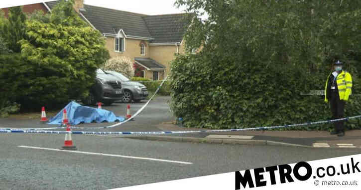 Man dies two days after being found in road with 'serious stab wound'