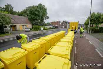 Inwoners van Berlaar krijgen gele papiercontainer (Berlaar) - Gazet van Antwerpen