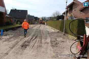 Wiefelstede: Straßen werden saniert: Sanierung im Blumenviertel geht weiter - Nordwest-Zeitung
