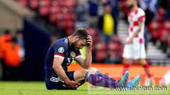 City skipper Hanley limps off during Scotland game - PinkUn