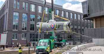 22 photos of the moment iconic Spitfire returns home to Hanley - Stoke-on-Trent Live