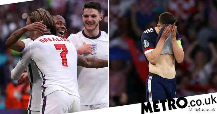 Euro 2020: England top Group D as Scotland crash out